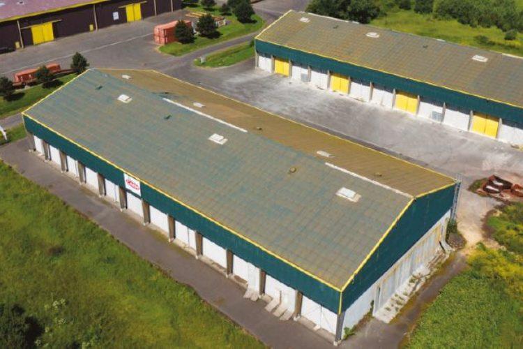 Hangar de stockage vrac à Blainville sur Orne