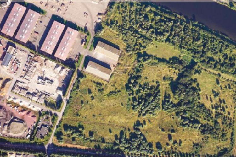 Terrain 47 500m², proche terminal portuaire, Blainville sur Orne