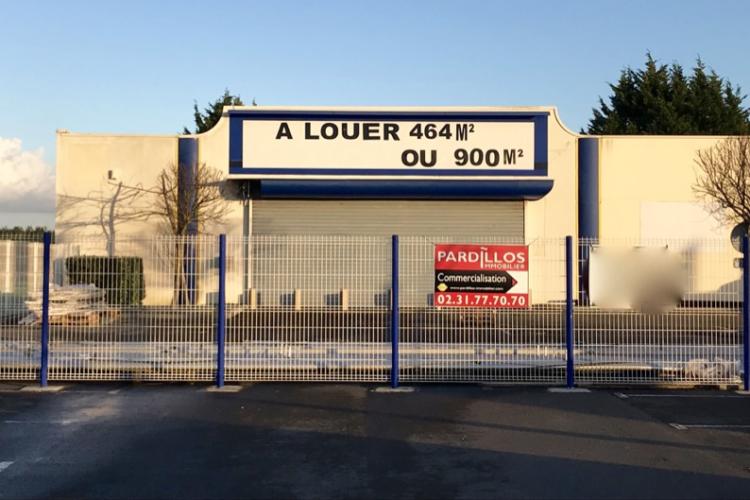 LOCAL COMMERCIAL OUISTREHAM / PAS DE DROIT AU BAIL