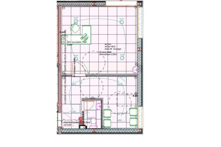 BUREAUX NEUFS 40 m²