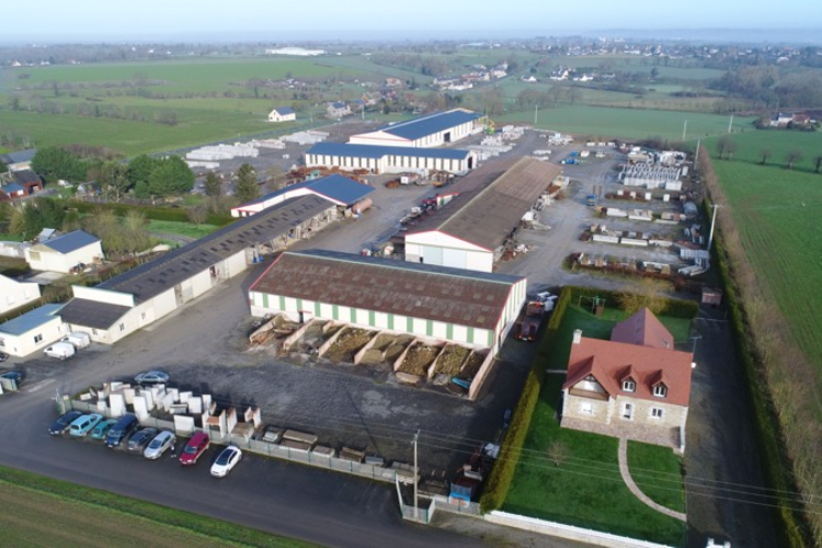 SITE DE PRODUCTION EN BETON ARME AVRANCHES