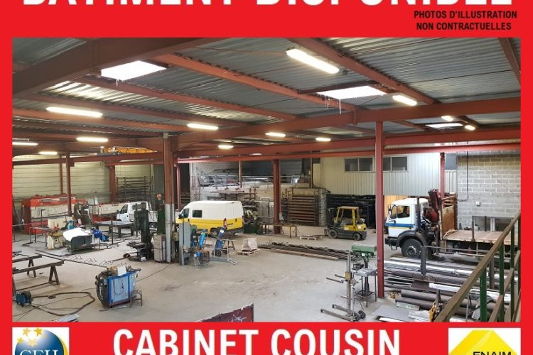 Location / Vente Bâtiment industriel/artisanal CHERBOURG EN COTENTIN – LA GLACERIE