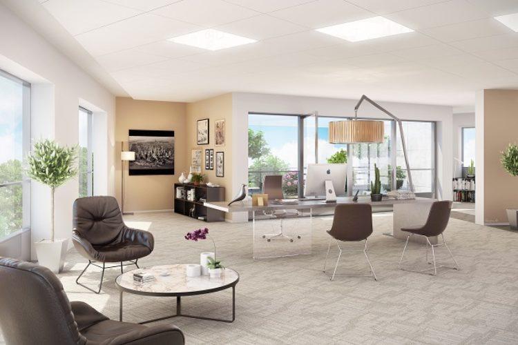 Bureaux – 293 m² – IMMEUBLE NEUF – ROUEN