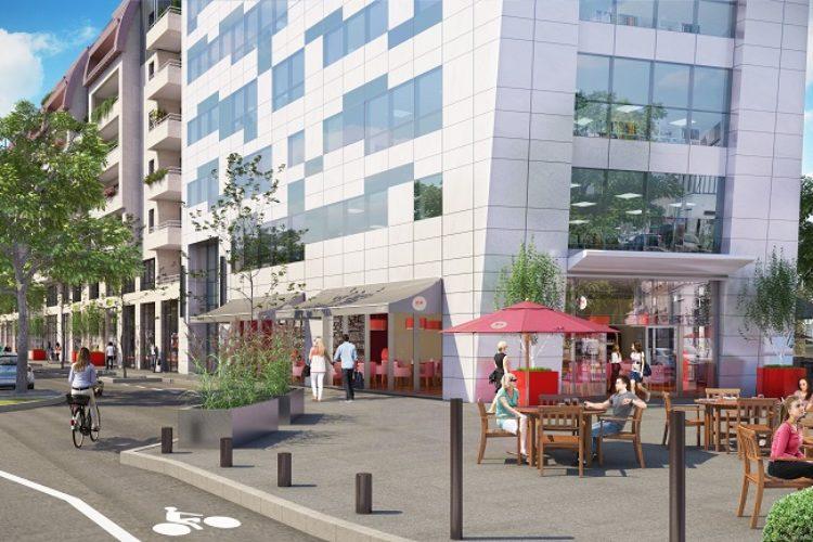 Local commercial d'angle – 259 m² – Idéal restaurant avec terrasse – IMMEUBLE NEUF