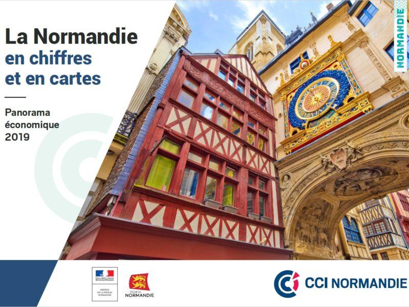 Découvrez l'édition 2019 du panorama économique à l'échelle de la Normandie