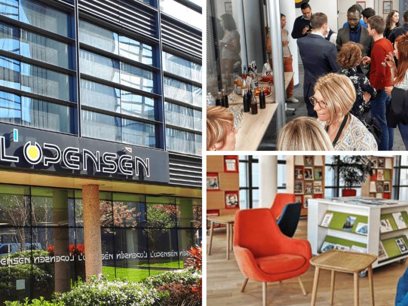 Découvrez l'espace coworking de L'Opensèn à Rouen et rencontrez les coworkers !