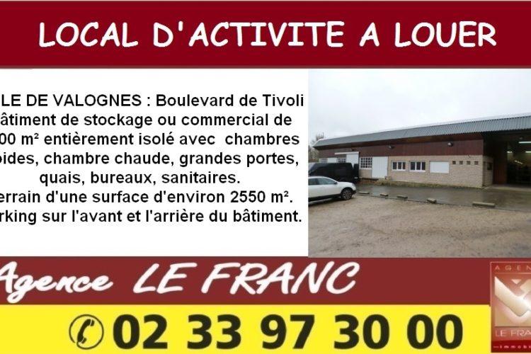 Local d'activité à Louer