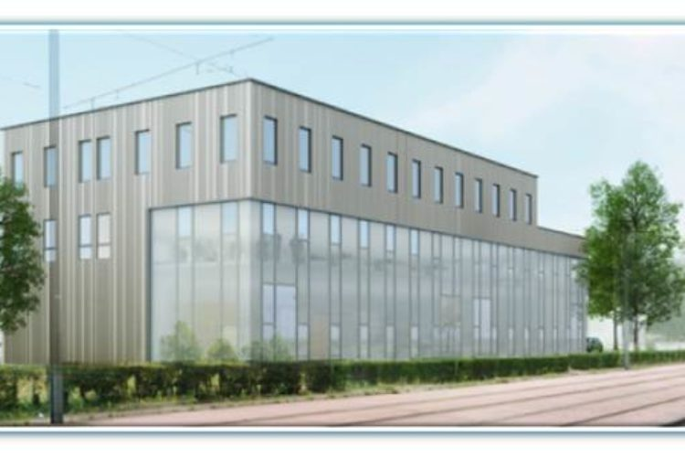 Programme locatif  neuf bureaux et ateliers au Petit-Quevilly – Rouen Sud