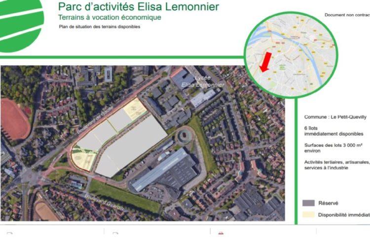 Parc d'activités Elisa Lemonnier – Le Petit Quevilly