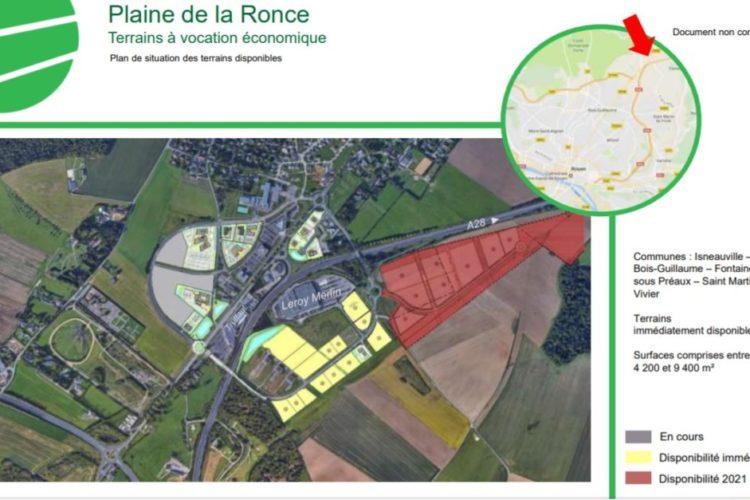 ZAE Plaine de la Ronce – Isneauville