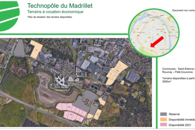Rouen Madrillet Innovation – Rouen Sud