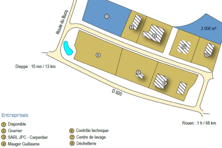 Zone Artisanale de Torquevillle – Envermeu Terrains à vendre
