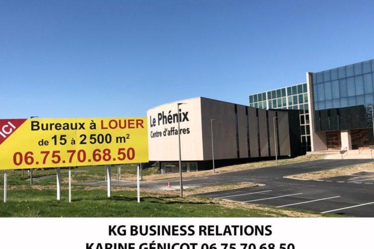 Bureau de 26 m2 – Centre d'affaires Le Phénix