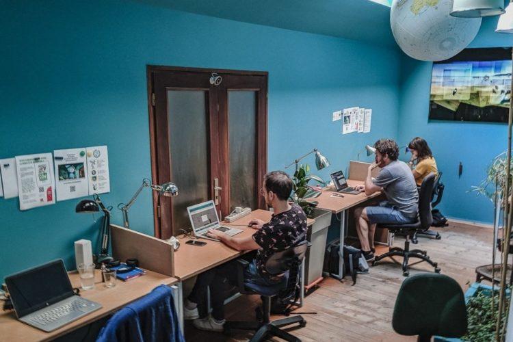 Coworking La Maison Bleue – Centre de Rouen