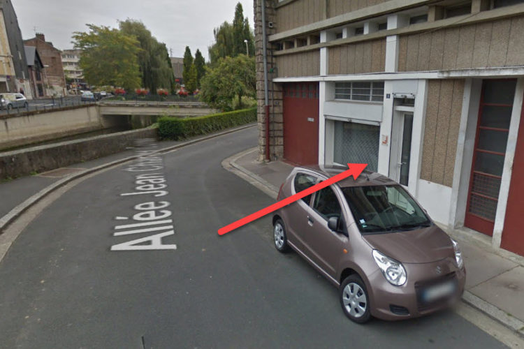 Loue Bureau 60m² centre Lisieux au rez-de-chaussée libre de suite