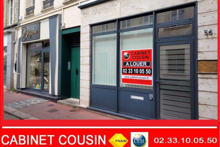 60 m² de bureaux cherbourg centre