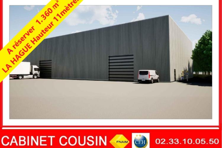 1360 m² proche beaumont-hague
